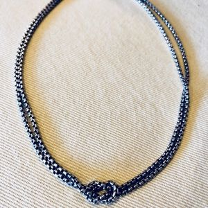 David Yurman Knotted Chain Necklace